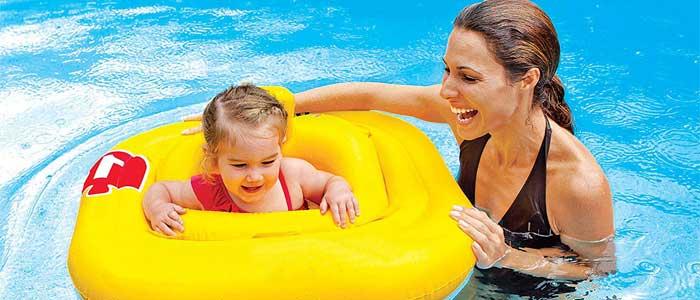 flotador para bebe seguro