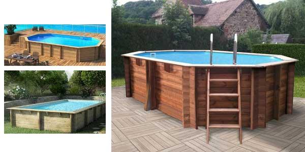 comprar piscina de madera