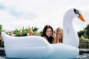 flotador de cisne comprar