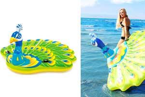 flotador de pavo real comprar
