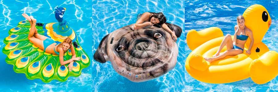 flotadores de animales